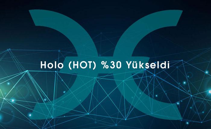 Holo (HOT), Bitcoin Karşısında Yüzde 30 Değer Kazandı!