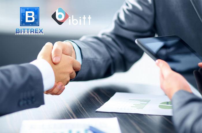 Bittrex, iBitt ile İşbirliği Yapıyor