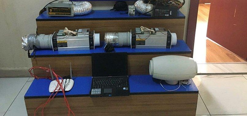 Edirne'de Kaçak Elektrik ile Bitcoin Madenciliği