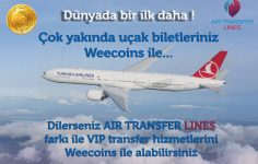 Weecoins İle Dünyada Bir İlk: Kripto Para İle Uçak Bileti Satın Al